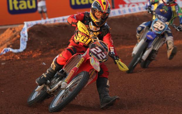 Rodrigo Rodrigues, piloto da categoria MX2 - Crédito: Foto: Luiz Pires/VIPCOMM
