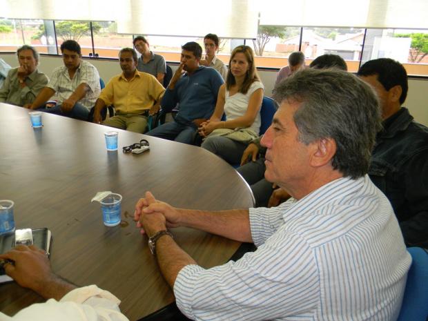 Prefeito recebeu líderes comunitários e pediu apoio para administrar Dourados - Crédito: Foto : Assecom