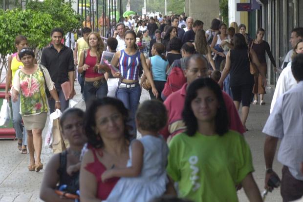 A população feminina continua sendo a maioria no Brasil, segundo o Censo 2010 - Crédito: Foto : ABr/ arquivo