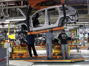 Fábrica da Chrysler em Detroit, nos Estados Unidos  - Crédito: Foto: Rebecca Cook/Reuters