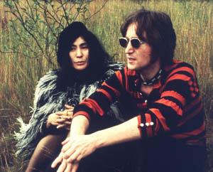 John Lennon e Yoko Ono - Crédito: Foto: Divulgação