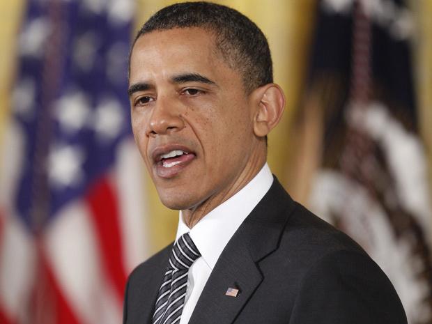 Obama discursa durante cerimônia de entrega de medalha a veteranos de guerra, nesta segunda - Crédito: Foto: Charles Dharapak / AP
