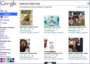 Pesquisas sobre o Osama no Google estão direcionando usuários para antivírus fraudulentos  - Crédito: Foto: Reprodução/Kaspersky