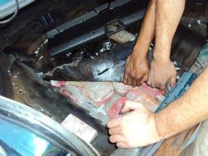 16 kg de crack foram apreendidos pela PRF em Ubiratã - Crédito: Foto: Divulgação