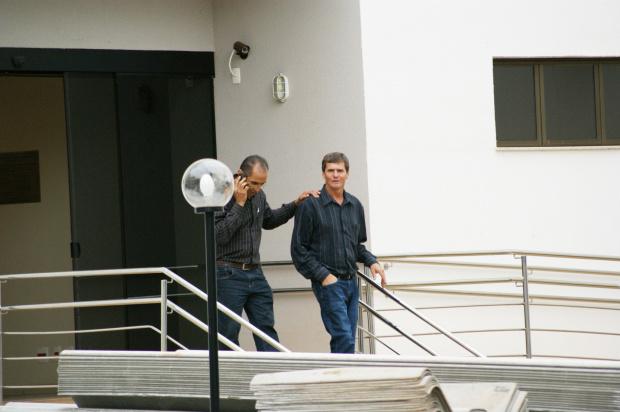 Ex-prefeito Ari Artuzi esteve no Fórum, ontem à tarde, para dar depoimento - Crédito: Foto: Hédio Fazan/PROGRESSO