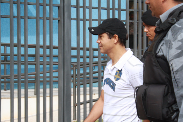 Servidor público Amilton Salina que deixou ontem a cadeia com Rodrigo Terra - Crédito: Foto: Hédio Fazan/PROGRESSO