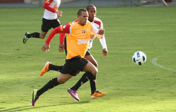 Luis Fabiano, atacante do São Paulo - Crédito: Foto: Luiz Pires/VIPCOMM