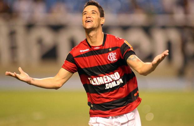 Thiago Neves, meia do Flamengo - Crédito: Foto: Maurício Val/VIPCOMM