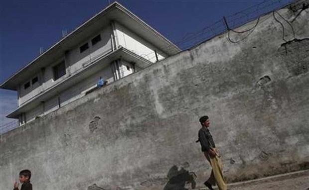 O complexo onde Bin Laden vivia em um pequeno povoado do Paquistão - Crédito: Foto: Faisal Mahmood/Reuters