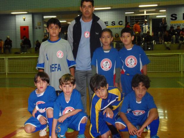 Equipe Fraldinha da Aefa que joga hoje pela sexta rodada da Copa Sesc - Crédito: Foto : Divulgação
