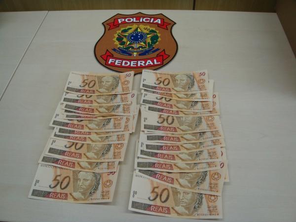 PF e PRF aprende  droga e notas falsas  - Crédito: Foto : Divulgação