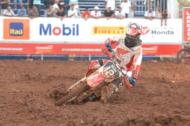 ean Ramos, piloto da Equipe Honda Mobil da categoria MX2 na Superliga Brasil de Motocross - Crédito: Foto: Marcelo Franco/VIPCOMM