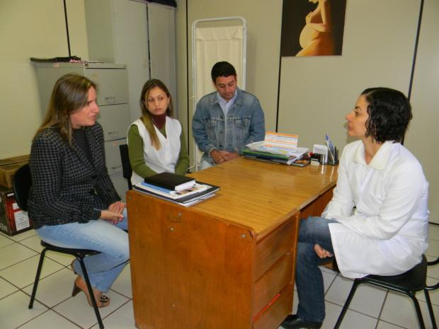 Sílvia Bosso e a equipe de coordenação da unidade do Jardim Cuiabazinho - Crédito: Foto: Divulgação