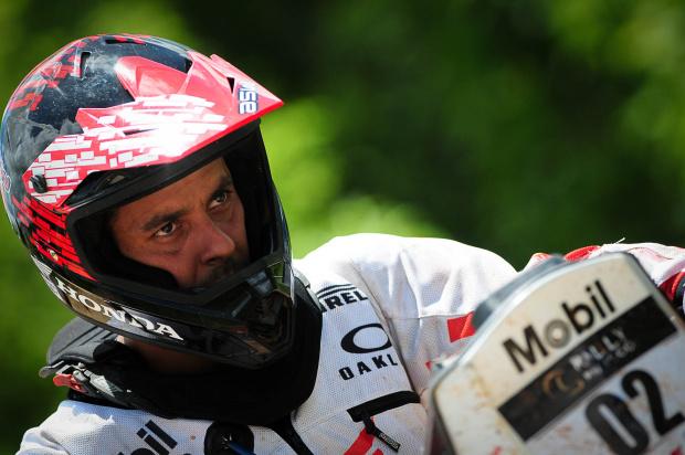 Dário Júlio, piloto Honda Mobil de Enduro de Regularidade - Crédito: Foto: Fábio Davini//VIPCOMM