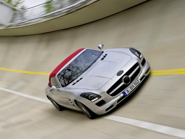 Mercedes SLS AMG Roadster - Crédito: Foto: Divulgação