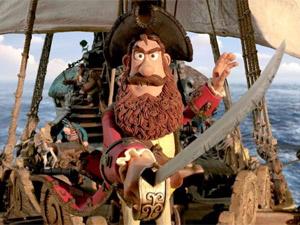 Pirate Captain, personagem de animação da Aardman que será dublado por Hugh Grant  - Crédito: Foto: Divulgação