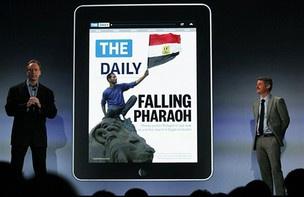 Jornal digital \'The Daily\', vendido para usuários de iPad - Crédito: Foto: Spencer Platt/Getty Images/AFP