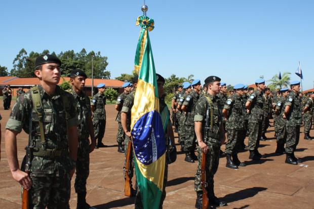 Marechal Rondon, patrono das comunicações, foi homenageado por militares - Crédito: Foto: Hedio Fazan/PROGRESSO