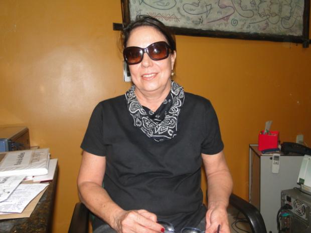 Cida Oliveira convida a sociedade a participar do Leilodom - Crédito: Foto: Divulgação