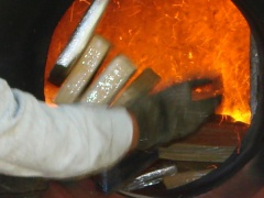 Queima das mais de 3,5 toneladas de drogas aconteceu ontem - Crédito: Foto: Divulgação