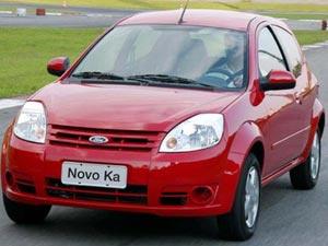 Só 9,4% dos donos de 41,6 mil Novo Ka atenderam ao recall de 2008, diz a Ford - Crédito: Foto: Divulgação