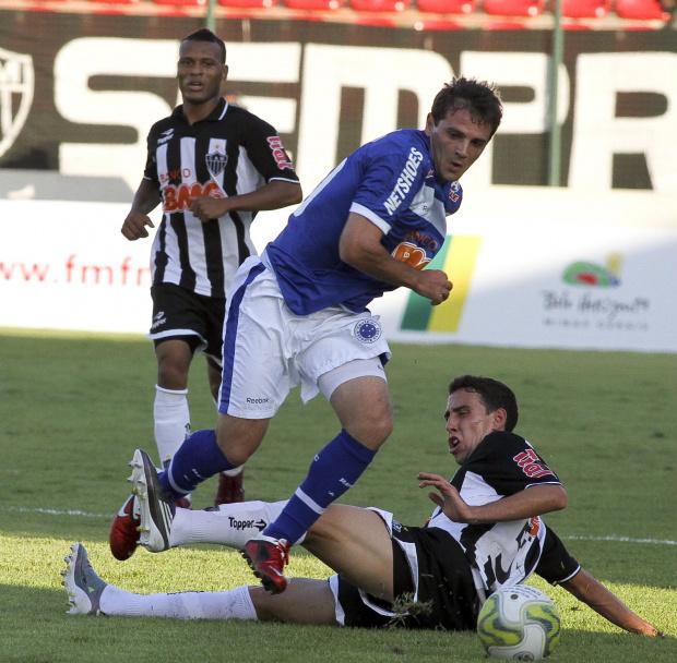 Montillo, meia-armador do Cruzeiro - Crédito: Foto: Washington Alves/VIPCOMM