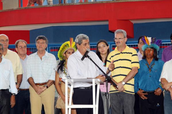 Governador diz que não tem autorização da Funai para resolver o problema da falta de policiamento - Crédito: Foto: divulgação