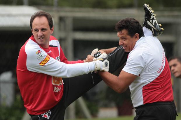 Rogério Ceni, goleiro e capitão do São Paulo - Crédito: Foto: Luiz Pires/VIPCOMM