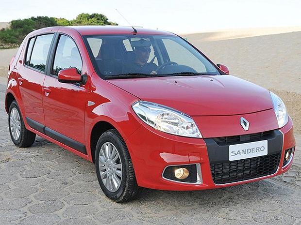 Renault Sandero 2012 passou por mudanças externas e internas - Crédito: Foto: Divulgação