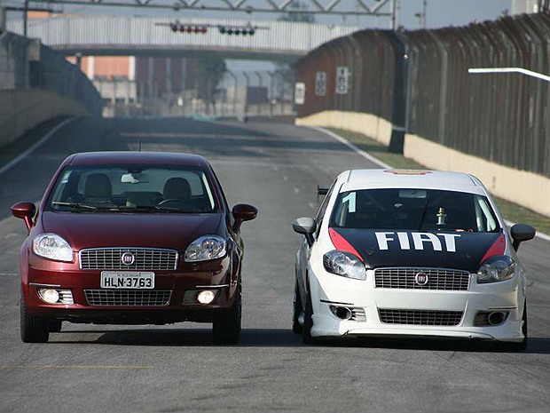 Fiat Linea de competição é baseado na versão T-Jet de rua - Crédito: Foto: Cerri Studio/Divulgação