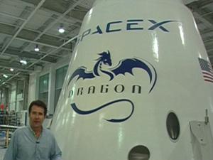Space X projeta lucros com programa espacial  - Crédito: Foto: BBC
