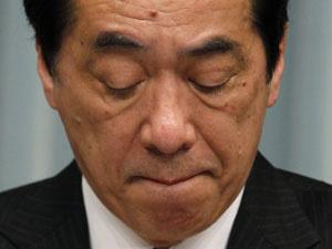 Naoto Kan em coletiva de imprensa realizada nesta terça-feira - Crédito: Foto: Reuters