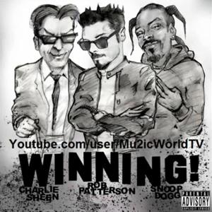 A capa do single \'Winning\' - Crédito: Foto: Divulgação