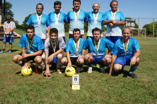 Equipe da Elétrica do Osmar, campeã do 11ª Torneio Gustavo Munarini da AABB - Crédito: Foto : Marcelo Humberto
