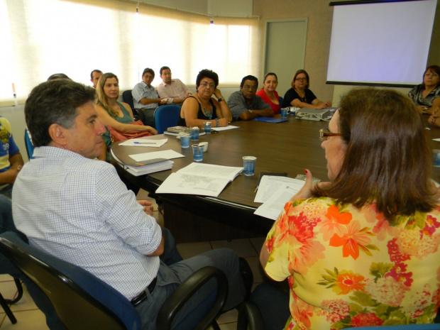 Prefeito participa de reunião para discutir Plano Diretor de Dourados - Crédito: Foto: Divulgação
