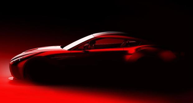 Esboço do carro que sairá da nova parceria da Aston Martin com a Zagato - Crédito: Foto: Divulgação