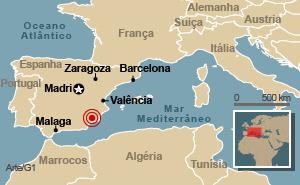 Terremoto mata 4 no sul da Espanha -