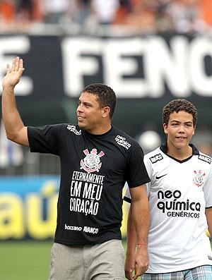 Ronaldo se aposentou do futebol em fevereiro  - Crédito: Foto: Agência Estado