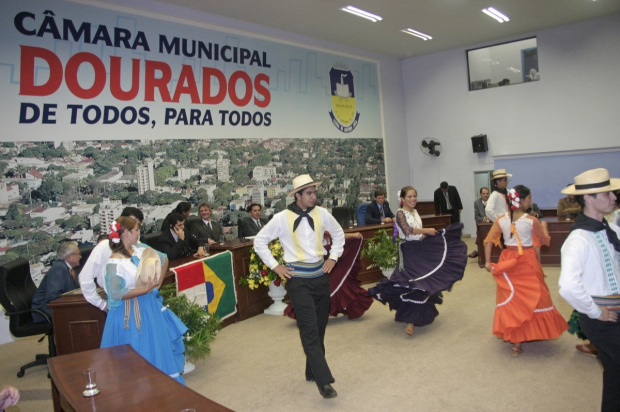 Dança e música serão apresentadas durante a solenidade na Câmara Municipal - Crédito: Foto: Arquivo