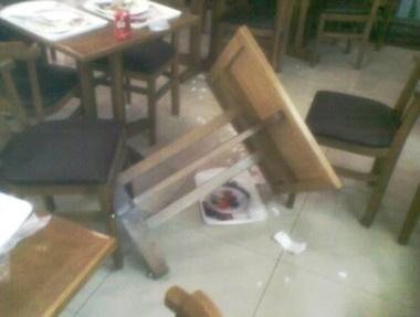 Explosão causa tumulto em Shopping de Cuiabá - Crédito: Foto: Luiz Guilherme Aires / Arquivo Pessoal