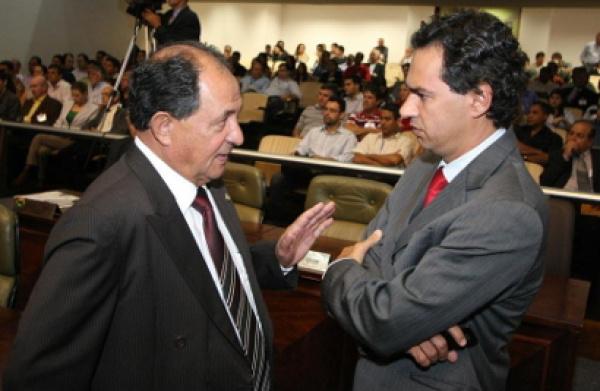 Deputados Zé Teixeira e Nelson Trad -