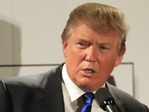 O bilionário Donald Trump em 11 de maio - Crédito: Foto: AP