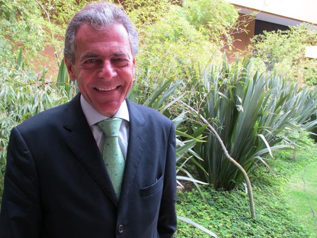 Carlos Tilkian, presidente da Estrela - Crédito: Foto: Darlan Alvarenga/G1