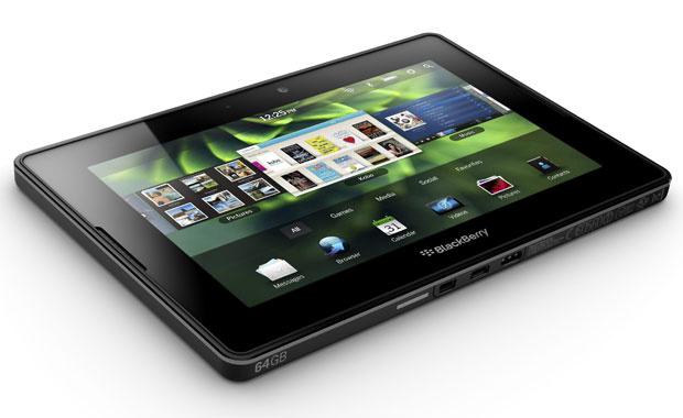A Research In Motion vai fazer um recall de cerca de 1 mil unidades do tablet Playbook que foram despachados com uma falha na compilação do sistema operacional, o que poderia causar problemas durante a configuração inicial, informou o blog de tecnologia \ - Crédito: Foto: AP