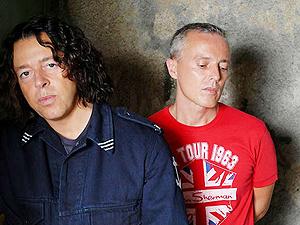 A dupla de pop rock Tears for Fears  - Crédito: Foto: Divulgação
