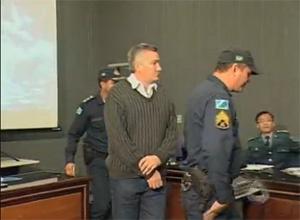 Major Carvalho em julgamento - Campo Grande Mato Grosso do Sul - Crédito: Foto: Reprodução/TV Morena