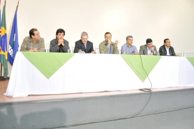 Geraldo participou de reunião sobre mobilização dos ruralistas em defesa do novo Código Florestal. - Crédito: Foto: Divulgação