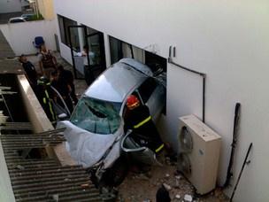 Ainda não há informações sobre as causas do acidente - Crédito: Foto: Heider Farias Eiterer/ G1
