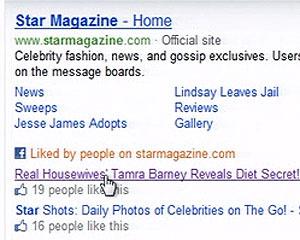 Recurso no Bing mostrará quantos amigos \'curtiram\' o link buscado - Crédito: Foto: Reprodução