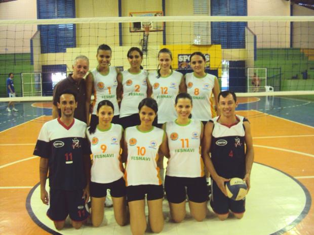 Equipes de vôlei de Naviraí garantem a primeira colocação no Conesul - Crédito: Foto : Divulgação